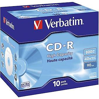 Blank CD-R 90 800 MB Verbatim 43428 10 pc(s)