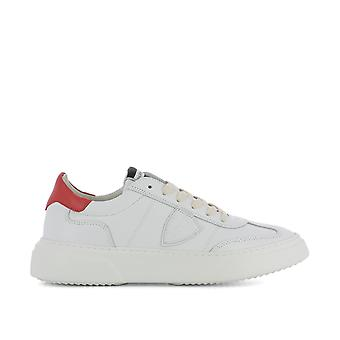 Philippe model men's BALUV002 White leather of sneakers
