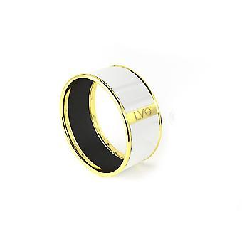 Легенда Vogue - чистый LVG белый желтый золото браслет