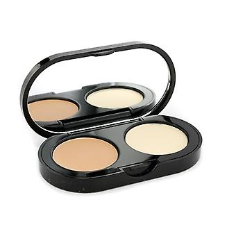 Bobbi Brown New Creamy Concealer Kit - Warm Natural Creamy Concealer + Pale Yellow Sheer Finish Pressed Powder 3.1g/0.11oz