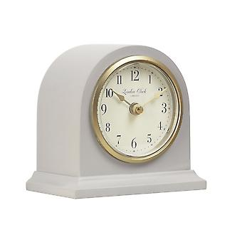 Heritage Lily Grey Arch Top Mantel Clock