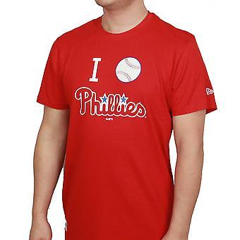 العصر الجديد ومدينة ملب تي شيرت الحب ~ Phillies فيلادلفيا