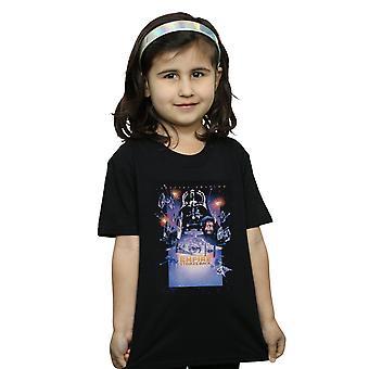 Star Wars Girls Episode VI Movie Poster T-Shirt