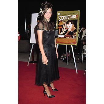 Maggie Gyllenhaal At Premiere Of Secretary Ny 9182002 By Cj Contino Celebrity