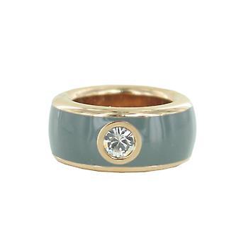 ESPRIT женщин кольцо из нержавеющей стали розовые фантазии серый ESRG12194E1