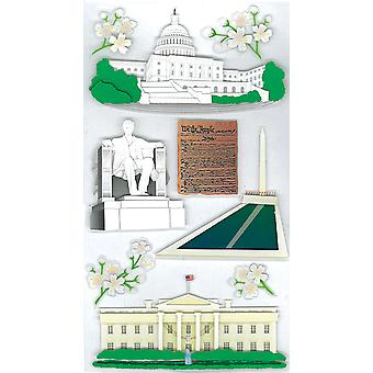 Jolee's Boutique Dimensional Stickers-Washington Sights
