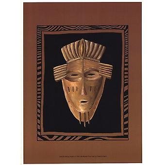 African Mask I Poster Print by Chariklia Zarris (10 x 13)