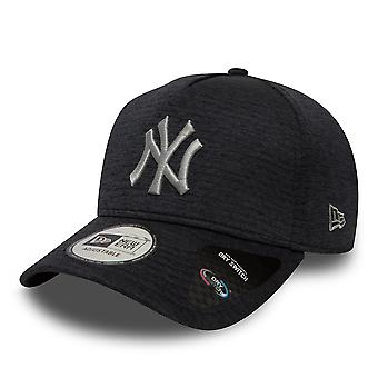 New Era Dryswitch Jersey A Frame NY Yankees Cap - Black / Grey