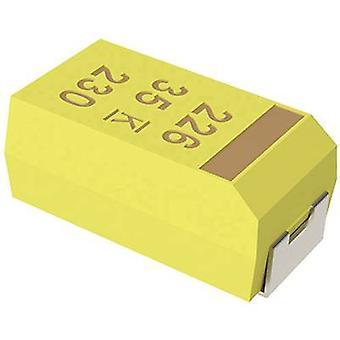 Tantalum capacitor SMD 2.2 µF 35 Vdc 10 % (L x W x H) 3.5 x 2.8 x 1.9 mm Kemet T491B225K035ZT 1 pc(s)