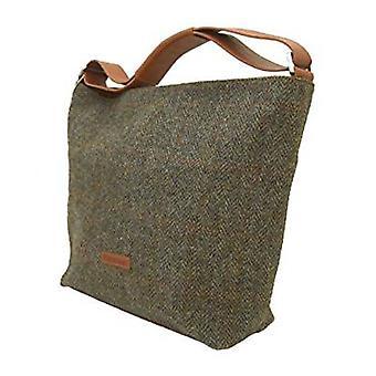 Harris Tweed Handbag Nessa (Harris Tweed Cinnamon HT03)