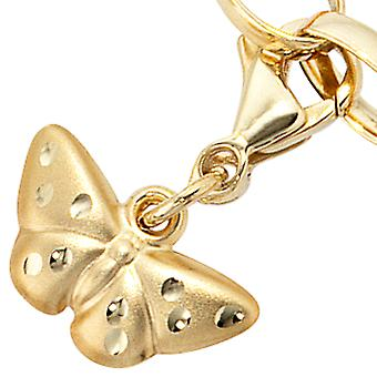 Pendant of charms gold 333 luck Butterfly RITA Charmanhänger gold