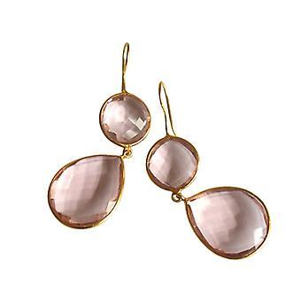 Morganitohrringe morganite gemstone earrings gemstone earrings gold plated