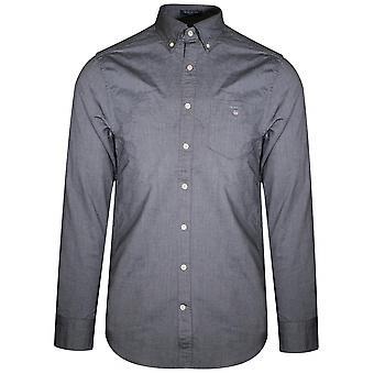 Gant GANT schwarz regelmäßige Oxfordhemd