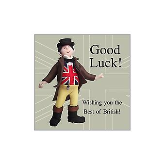 Union Jack Wear Best Of British Luck Card