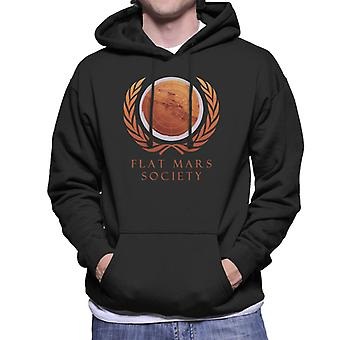 Flat Mars Society Men's Hooded Sweatshirt