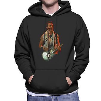 TV Times Joe Strummer The Clash Live Men's Hooded Sweatshirt