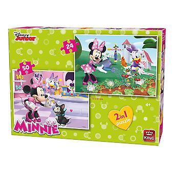 King 2 in 1 puzzel minnie 05414