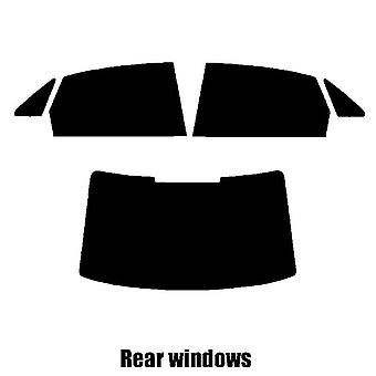 Pre cut window tint - Audi A4 4-door Saloon - 2016 and newer - Rear windows