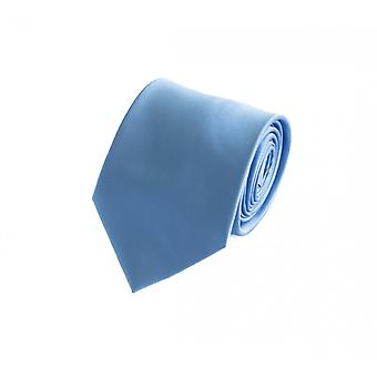 Schlips Krawatte Krawatten Binder 8cm hellblau Fabio Farini