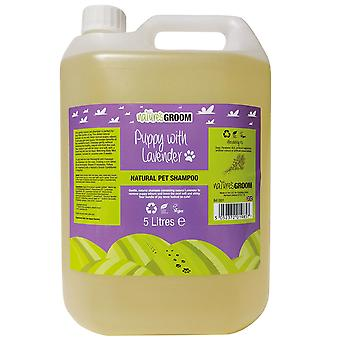 Natures Groom Puppy With Lavender Shampoo 5L