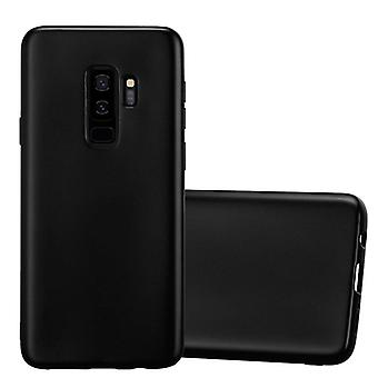 Cadorabo sleeve for Samsung Galaxy S9 PLUS - mobile case TPU silicone in the matte metallic design - silicone case cover ultra slim soft back cover case bumper