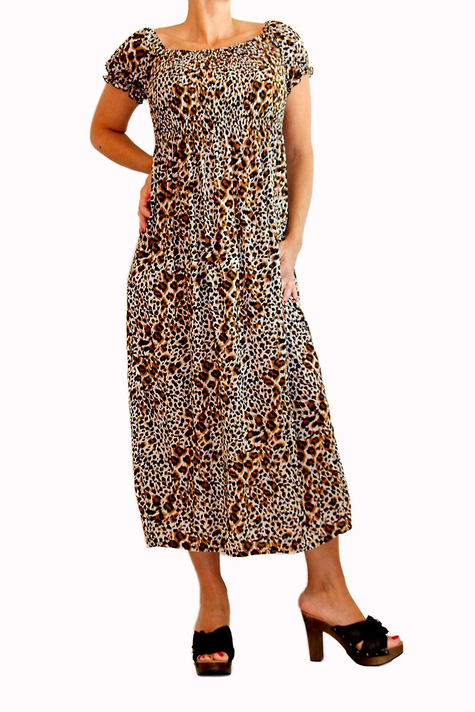 Waooh - Mode - Robe longue léopard