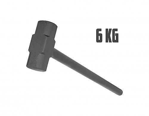 Marteau en acier de gymnastique 6kg