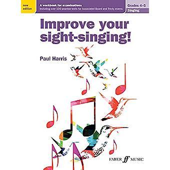 Förbättra din syn-sång! -Årskurs 4-5 av Paul Harris - 978057153948