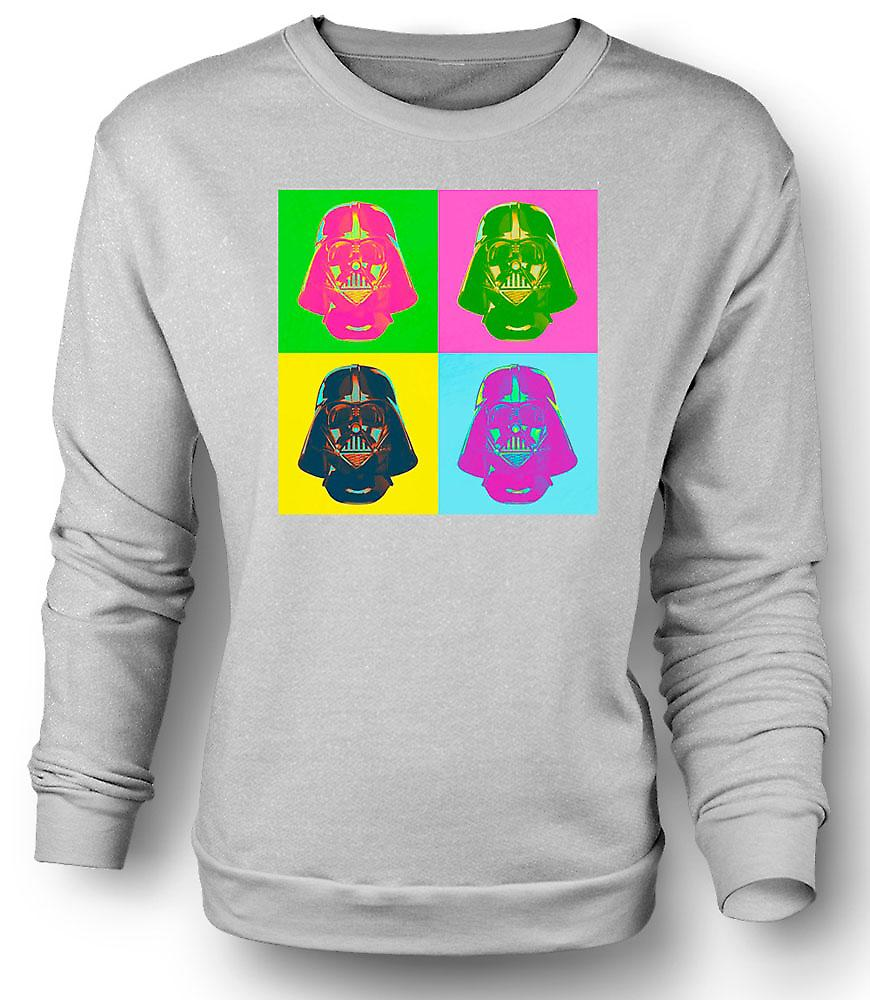Mens Sweatshirt Darth Vader - Star Wars - Warhol