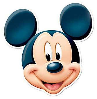 Mickey Mouse Card Face Mask