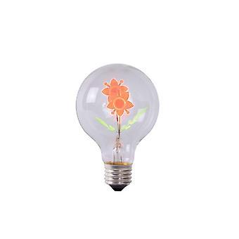 Lucide LED-pære form: Pære Glass gjennomsiktig LED-pære