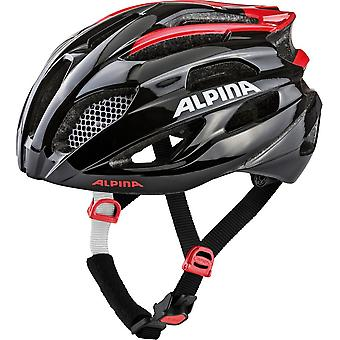 Alpina Fedaia bike helmet / / black / red