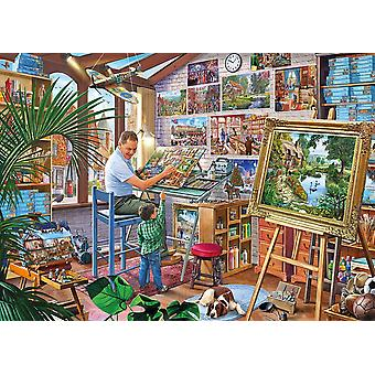 Gibsons A Work Of Art Jigsaw Puzzle (1000 pieces)