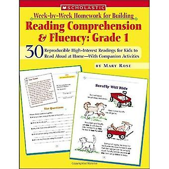 Week-By-Week Homework for Bldg Reading Comprehension & Fluency