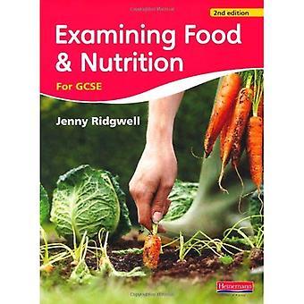 Examen des aliments et Nutrition pour les GCSE