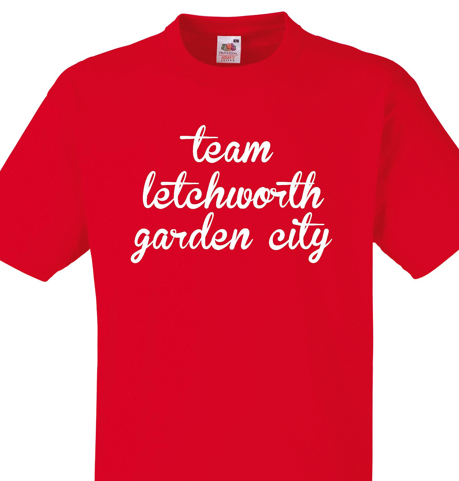Team Letchworth garden city Red T shirt