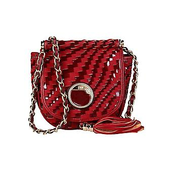 Cavalli Class Women Red Crossbody Bags -- C41P343728