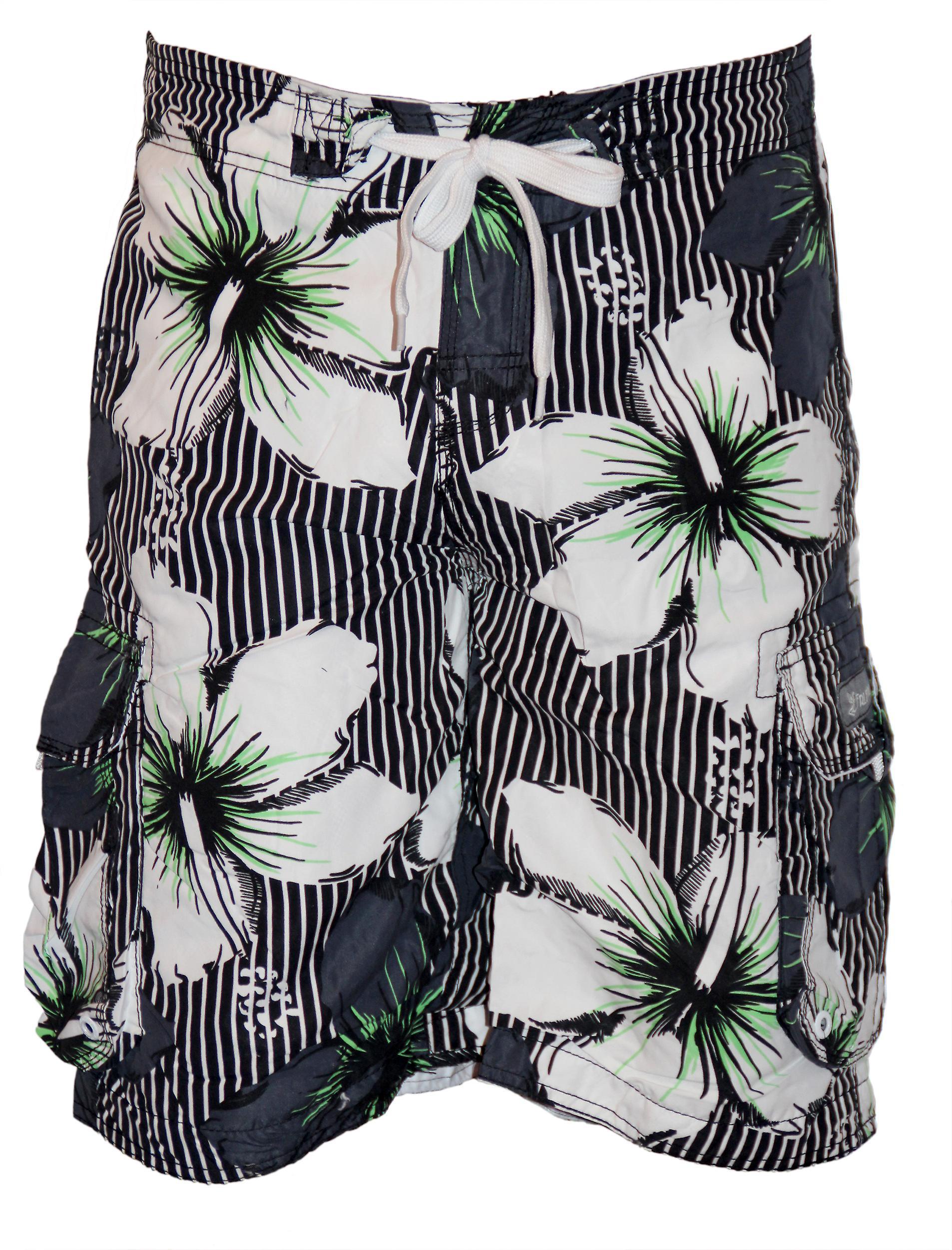 Waooh - Swim Shorts Hawaiian Dean scratches
