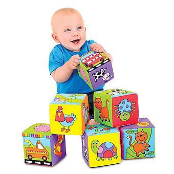 Galt игрушки Детские мягкие блоки