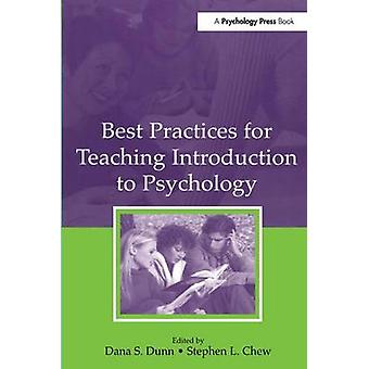 Best Practices for Teaching Introduction to Psychology by Dunn & Dana S.