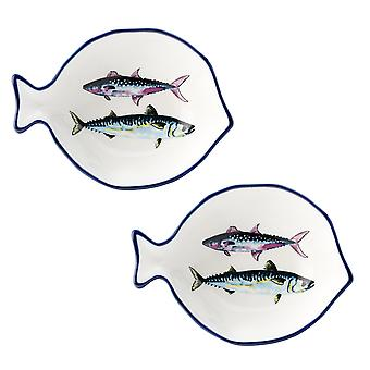 English Tableware Co. Dish of the Day Set of 2 Small Dishes