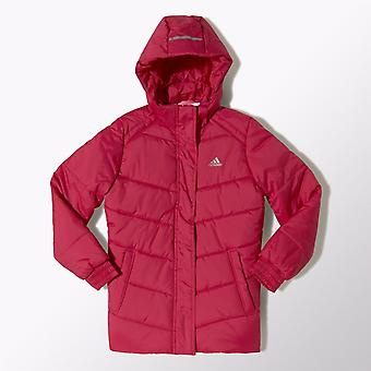 Adidas Girls Padded Hooded Jacket