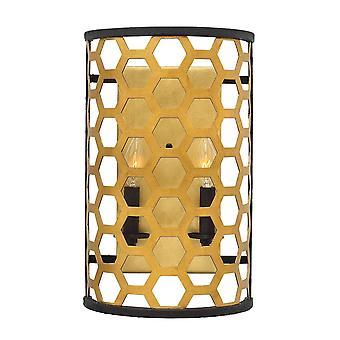 Stead-2 Light Wall Light-Gold Finish-HK/FELIX2