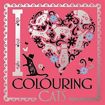 Jag hjärta färgning katter av Lizzie Preston-Lizzie Preston-Valeria V