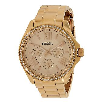 Fossil (Open Box) Cecile Multifunction Rose Gold-Tone Ladies Watch AM4483