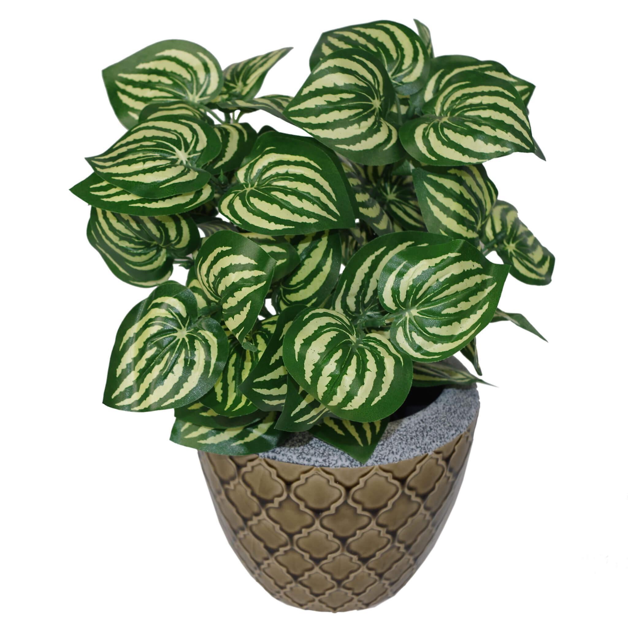 45cm Artificial Watermelon Style Leaves Plant