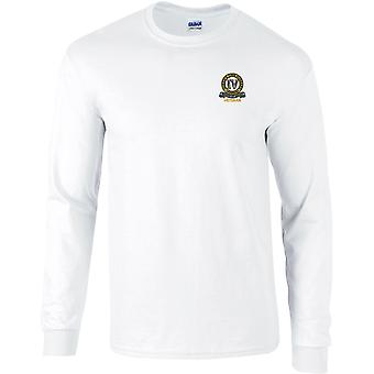 4th Queen's Own Hussars Veteran - Licensed British Army Embroidered Long Sleeved T-Shirt