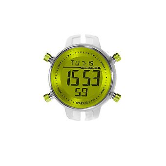 Watx&colors m Digital Watch for Unisex Digital Quartz with Rubber Bracelet RWA1043