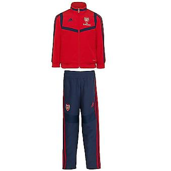 2019-2020 Arsenal Adidas Mini Presentation Tracksuit (Red) - Infants