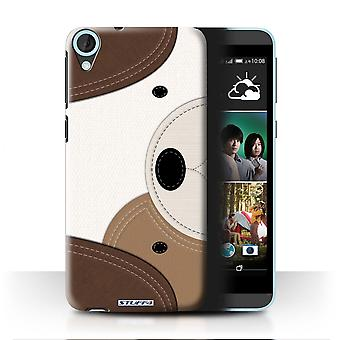 STUFF4 Case/Cover for HTC Desire 820/Dog/Animal Stitch Effect